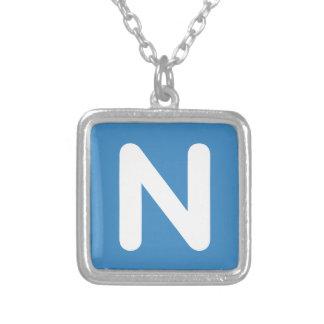 Twitter Emoji - Letter NR