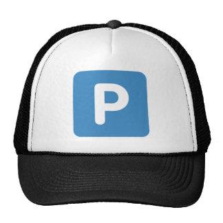 Twitter emoji Letter P