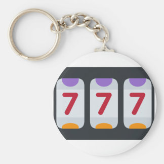 Twitter Emoji - Lucky 7 Key Ring