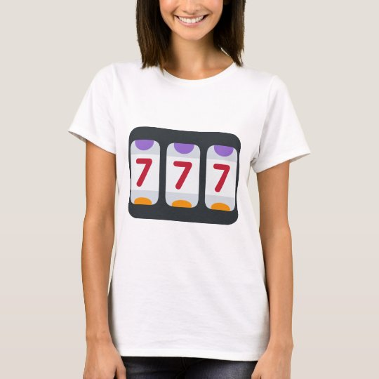 Twitter Emoji - Lucky 7 T-Shirt