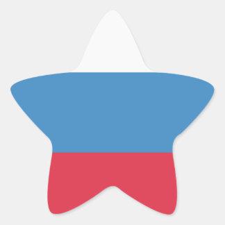 Twitter emoji - Russia Flag Star Sticker