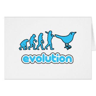 Twitter evolution card