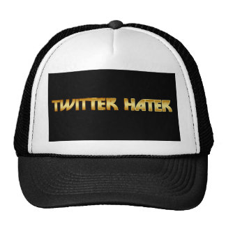 Twitter Hater Mesh Hats