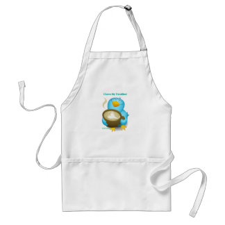 Twitter ID I Love My Twoffee Gifts Apparel Standard Apron