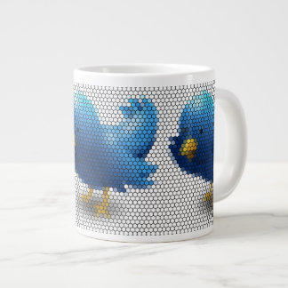 Twitter Little Bird Large Coffee Mug