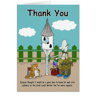Funny Thank You Cards, Funny Thank You Card Templates, Invitations, Photo Cards & More   Zazzle