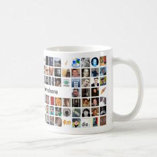 Twitter Mosaic Mug - Customized
