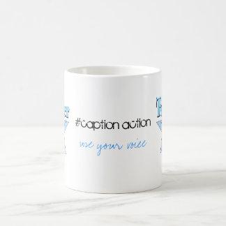 Twitter Rocks #caption action mug