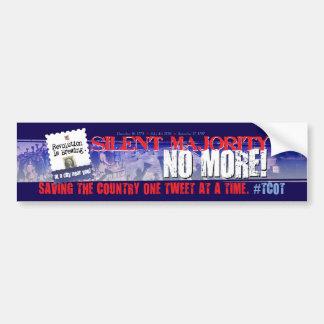 Twitter #tcot Bumper Sticker