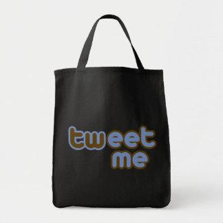 Twitter Tweet Me Offensive Humor Canvas Bag