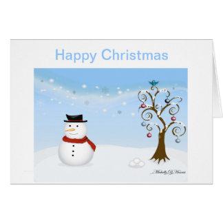 Twitter wonderland christmas greeting card