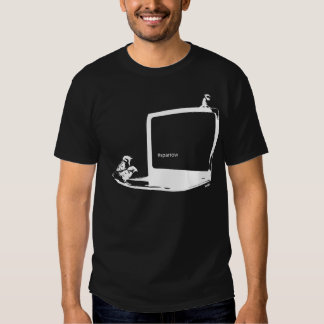 Twittering Sparrows Inverse T Shirts