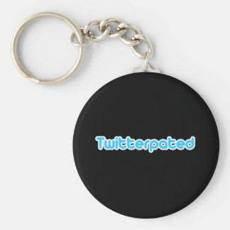 Twitterpated Basic Round Button Key Ring