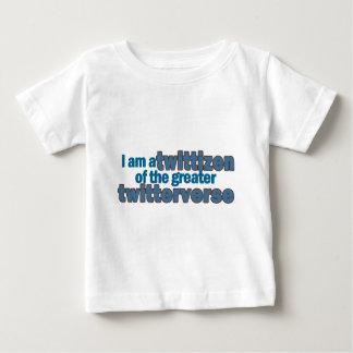 Twitterverse Twittizen Baby T-Shirt