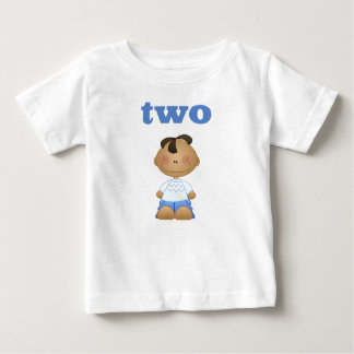 Two 2 Year Old Boy Second Birthday T-shirt