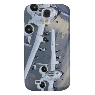 Two A-10C Thunderbolt II aircraft fly in format Galaxy S4 Case