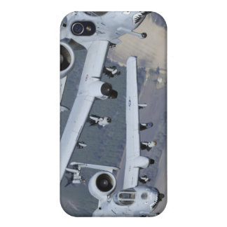 Two A-10C Thunderbolt II aircraft fly in format iPhone 4/4S Covers