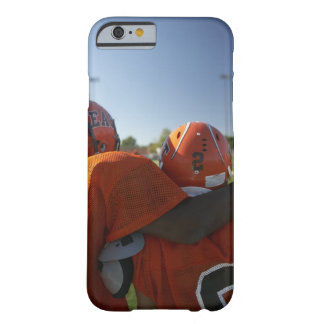 Two American football players looking at playing Barely There iPhone 6 Case