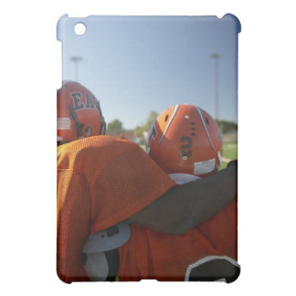 Two American football players looking at playing Case For The iPad Mini