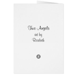 Two Angels Card