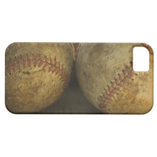 Two antique baseballs iPhone 5 cover