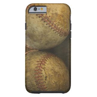 Two antique baseballs tough iPhone 6 case