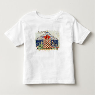 Two arabs playing chess in a tent toddler T-Shirt