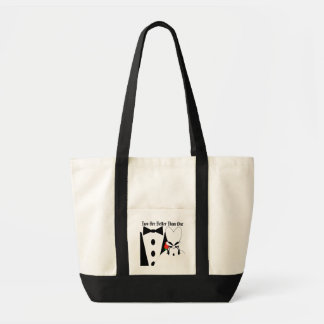 Two Are Better Than One Christian Bride's Tote Bag