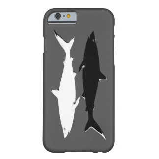 two b&w sharks barely there iPhone 6 case