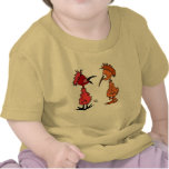 Two Baby Birds on baby shirt