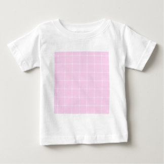 Two Bands Small Square - Pink2 Baby T-Shirt