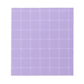 Two Bands Small Square - Violet2 Notepad