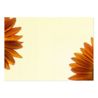 Two Bashful Sunflowers Large Business Cards (Pack Of 100)