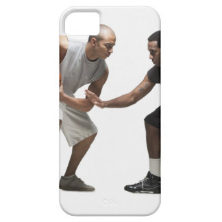 Two basketball players 2 barely there iPhone 5 case