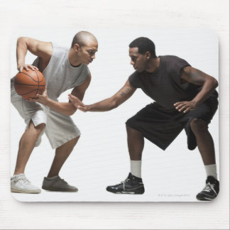 Two basketball players 2 mouse mat