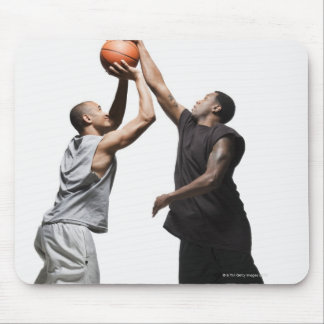 Two basketball players mouse mat