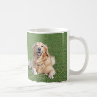 Two beautiful golden retrievers coffee mug