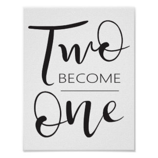 Two Become One Poster