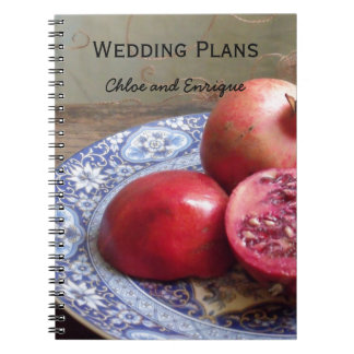 Two Become One Wedding Plan Note Book