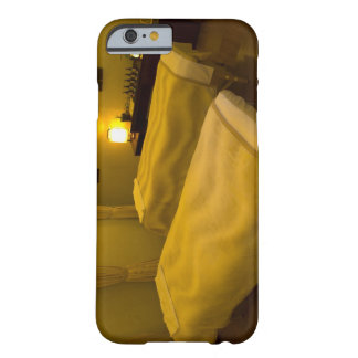 Two beds in the beauty salon, high angle view, barely there iPhone 6 case