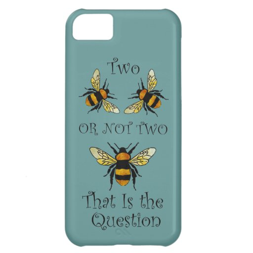 Two Bee or Not Two Bee Cover For iPhone 5C