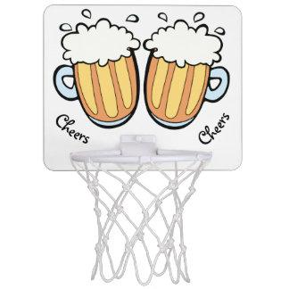 Two Beers Mini Basketball Hoop