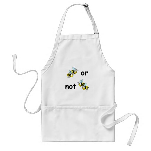 Two Bees or Not Two Bees Apron
