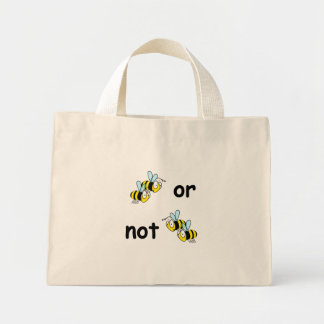 Two Bees or Not Two Bees Bag