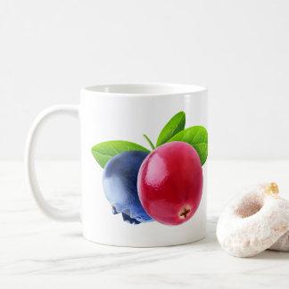 Two berries coffee mug