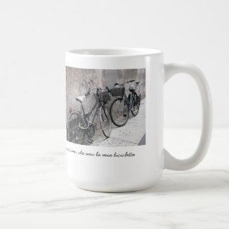 Two Bikes on an Italian Street Mug