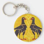 Two birds keychains