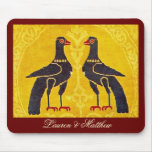 Two birds mousepads