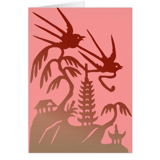 Two Birds Valentine Card