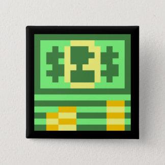 Two-Bit Bucks 15 Cm Square Badge